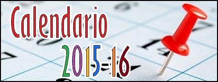 Calendario Escolar 2015-2016